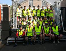 Succesvolle MND IJsselloop support 2017