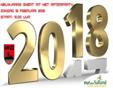 MND organiseert weer het Nieuwjaars Snert-rit met afterparty 2018